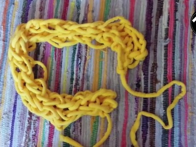 DIY: sjaal armbreien | KNIPgirls Jasmijn