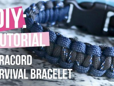 Sieraden maken - Survival bracelet Paracord