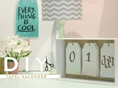 DIY Tafel kalender 2017 | Westwing stijltips