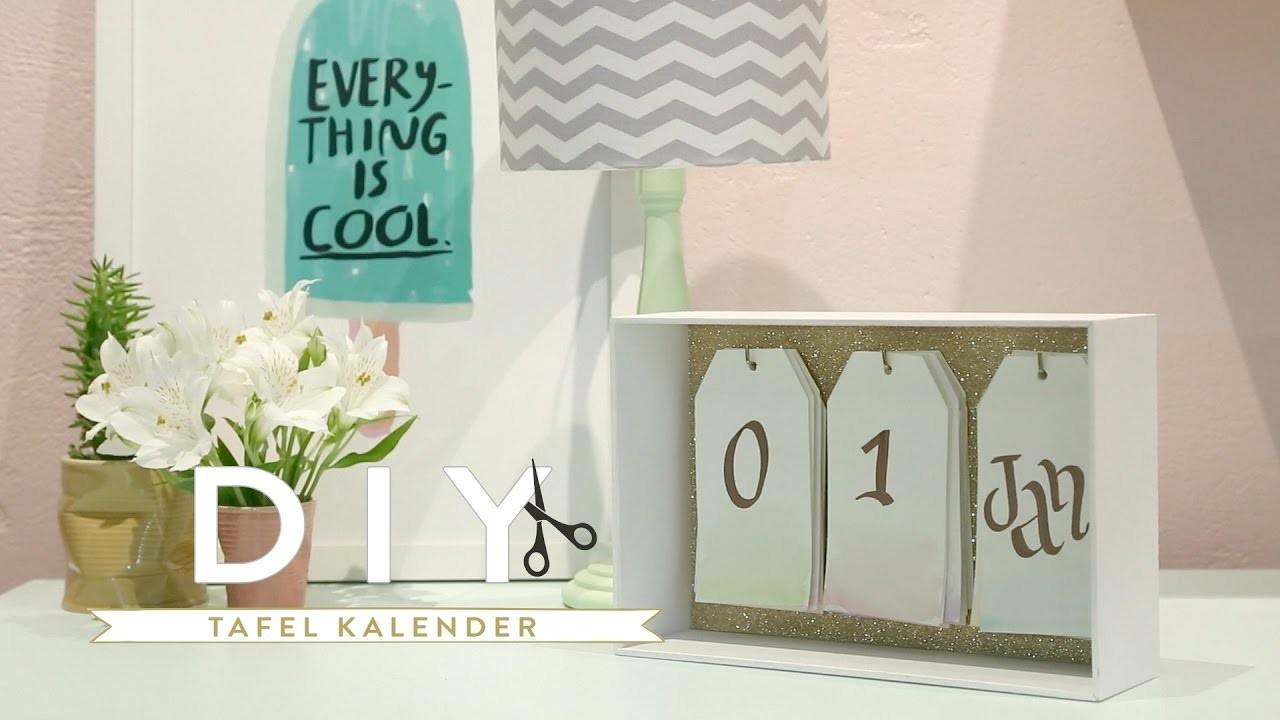 DIY Tafel kalender 2017   Westwing stijltips