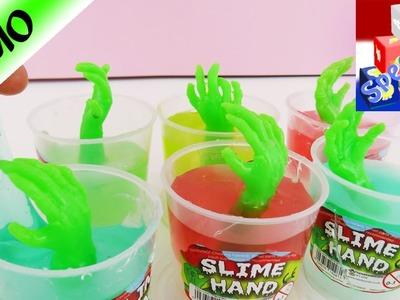 SLIJM GLIBBER HANDEN Slime Hands - Vieze handen komen uit slijm! Speel met mij kinderspeelgoed