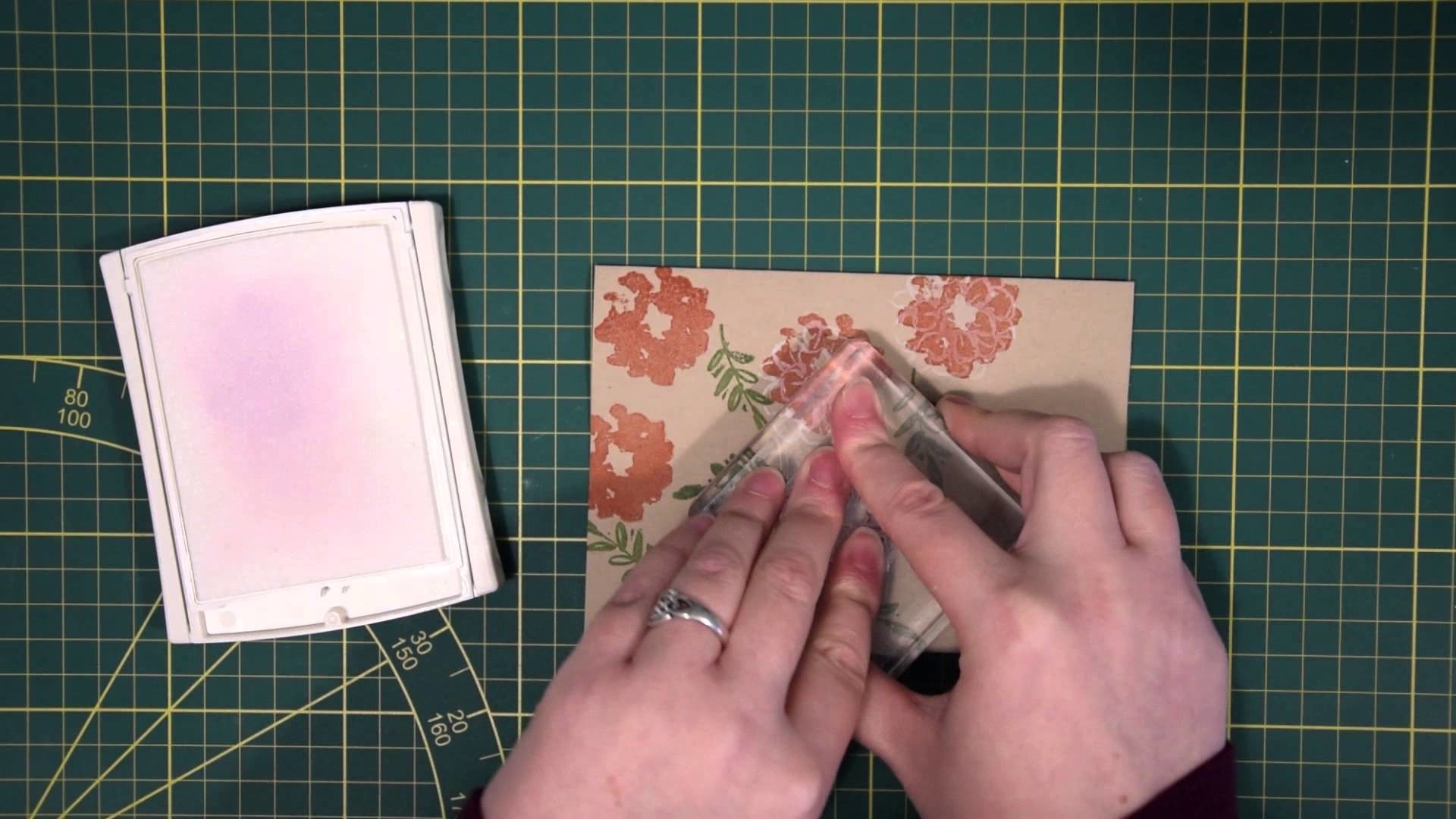 Craft & inkt stempeltechniek met What I Love
