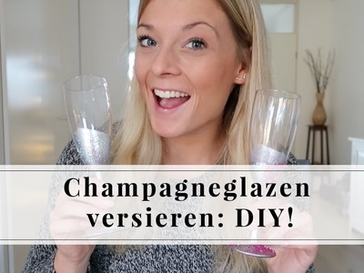 Champagneglazen versieren DIY | Furnlovers