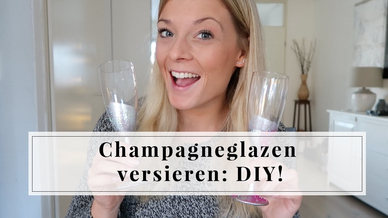 Champagneglazen versieren DIY | Furnlovers