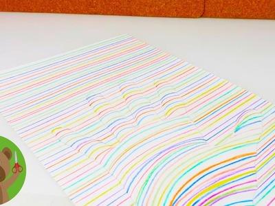 3D hand tekenen | Heel makkelijk tekenen | Cadeau voor ouders | DIY kids