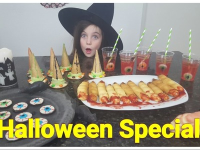 DIY - Bibi Halloween Special! 4 griezel snacks. snoep (Nederlands)