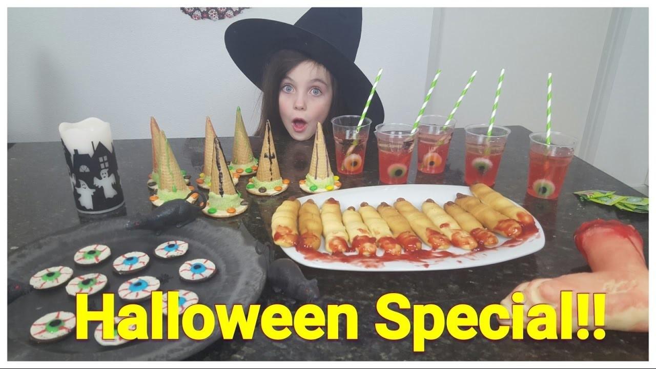 DIY - Bibi Halloween Special! 4 griezel snacks. snoep (Nederlands)