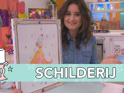 Jill DIY: Fashion schilderij