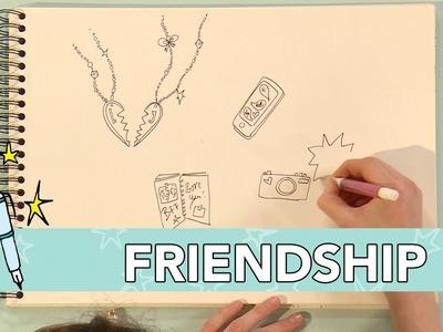 Jill DIY: Friendship Tekenen