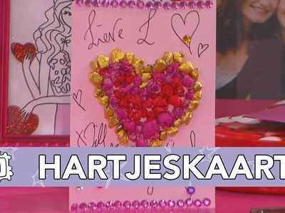 Jills Bonus DIY: Valentijn hartjeskaart