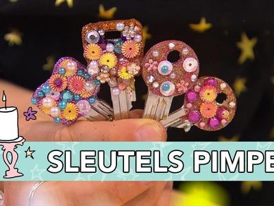 Jill - DIY: Sleutels pimpen