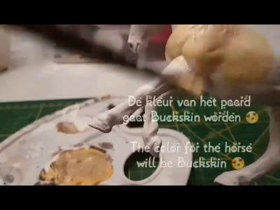 Schleich DIY: Hoe repaint je met pastel. How to repaint with pastels || SchleichGirl2006 ❤