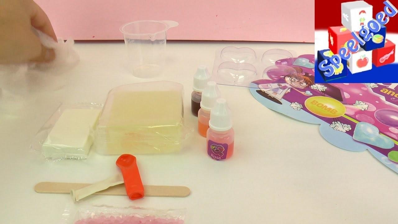 Zeep en bruisballen zelf maken! Bath Stuffs and Bombs - DIY speelgoedset voor bad