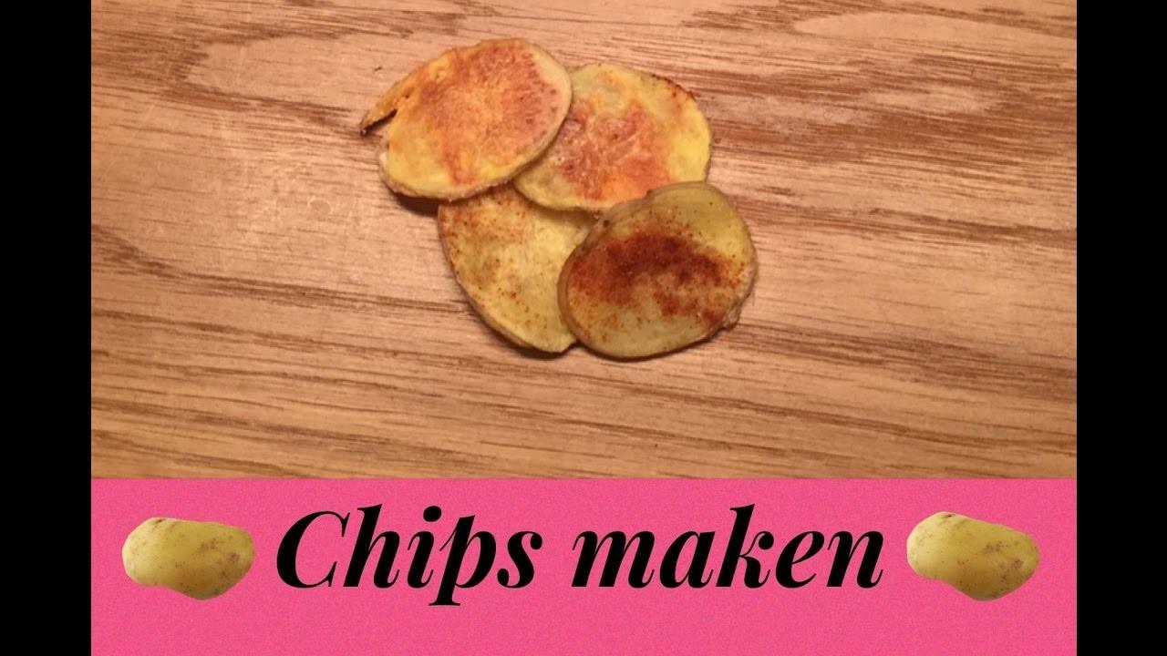 Chips maken in de magnetron - DIY