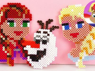 Frozen Strijkkralen | OLAF van strijkkralen | DIY kralenset getest DEMO3