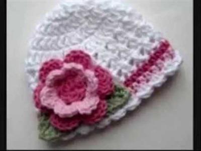 Crochet Baby Soft Woolen Berets