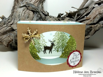 Stampin'Up! Peaceful pines deel 2 + Heart of Stampin'Up! NL