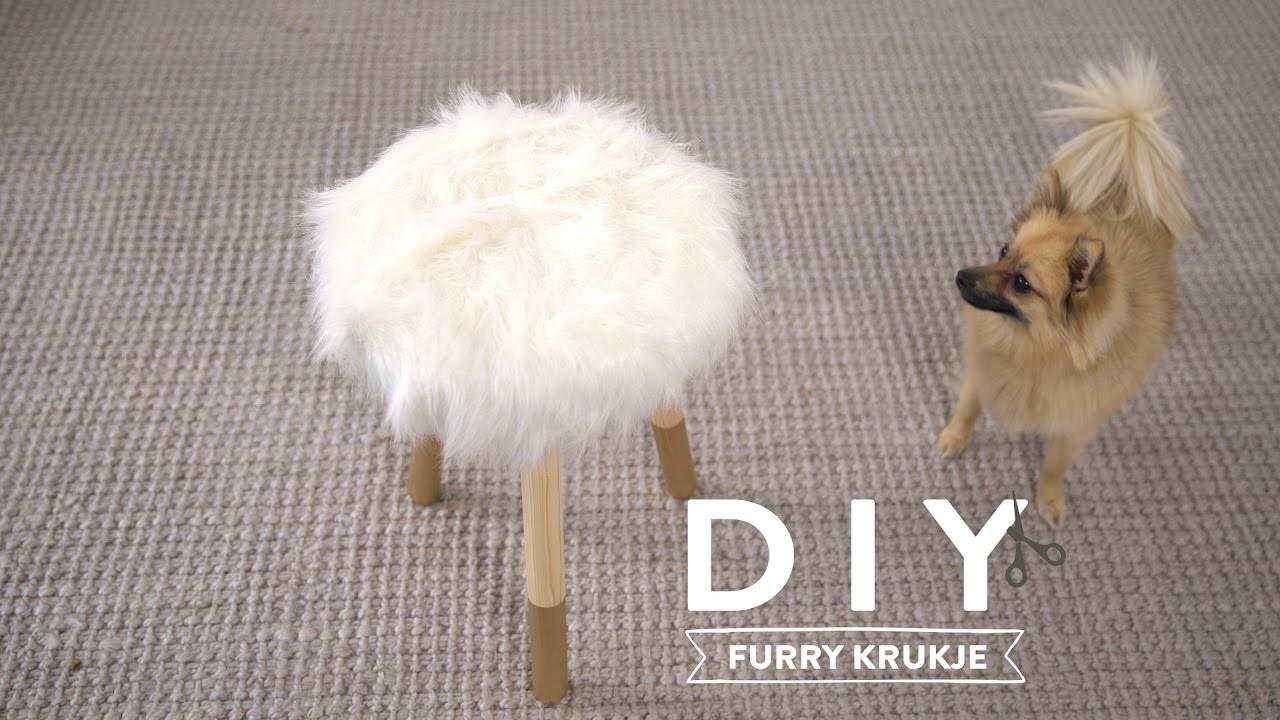 DIY Furry krukje | Westwing stijltips