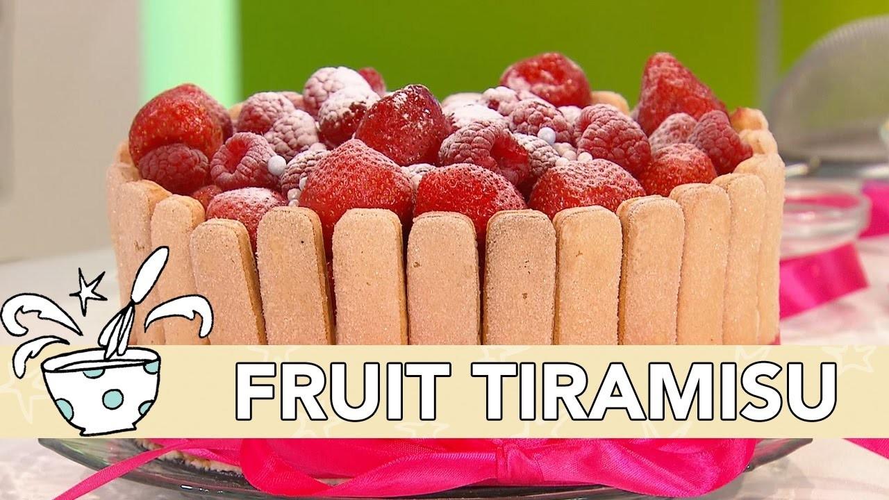 Jill - DIY: Fruit Tiramisu