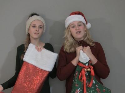 DIY: kerstsokken maken | KNIPgirls Sarah & Julia