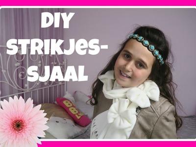 DIY strikjes-sjaal
