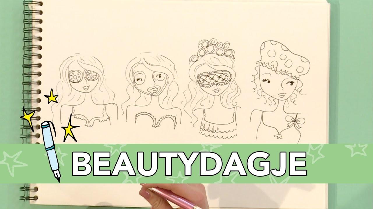 Jill - DIY: Beautydagje tekenen