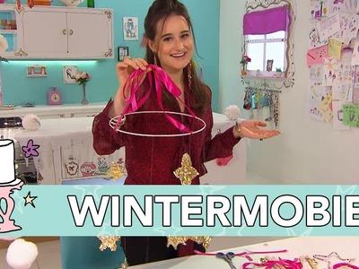 Jill - DIY: Mobiel met winterkristallen