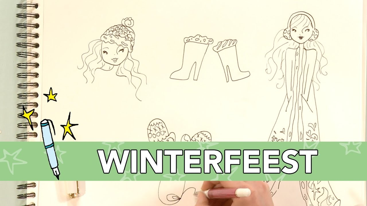 Jill - DIY: Winteroutfit tekenen