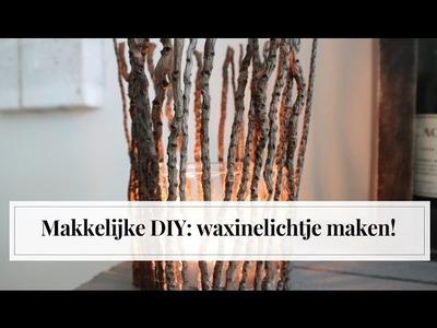 Makkelijke DIY waxinelichtjes maken | Furnlovers