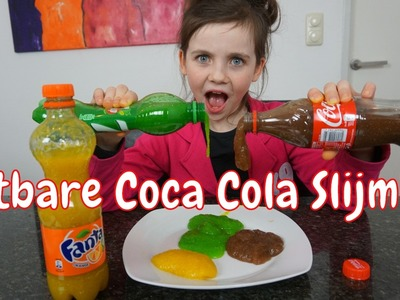 DIY - Eetbare Coca Cola Slijm - Bibi (Nederlands)