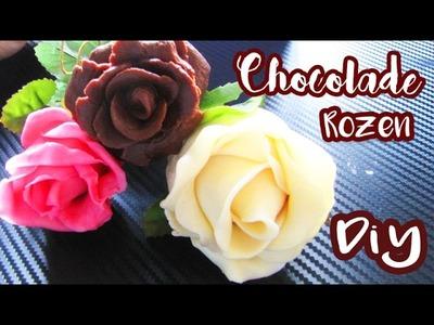 EETBARE CHOCOLADE ROZEN ZELF MAKEN | Craftmama Bakt
