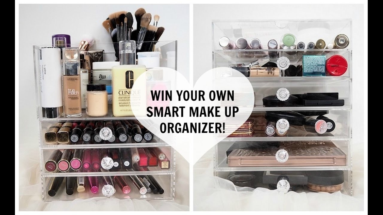YOSMO: YOUR OWN SMART MAKE-UP ORGANIZER + WIN WIN WIN!