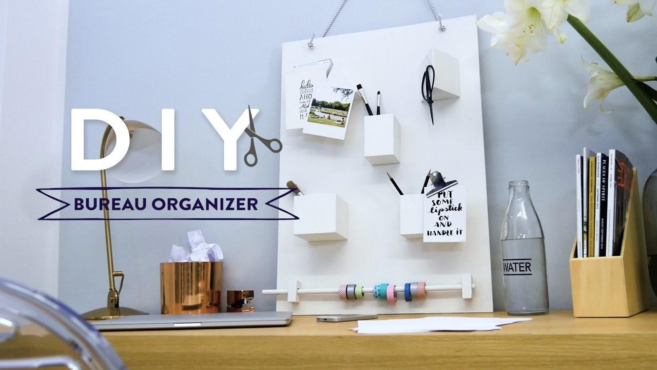 diy bureau organizer westwing stijltips. Black Bedroom Furniture Sets. Home Design Ideas