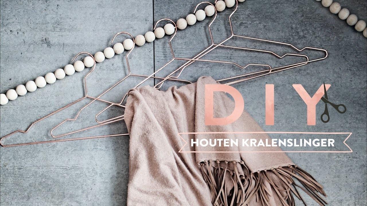 DIY Houten kralenslinger voor je kleding | Westwing stijltips