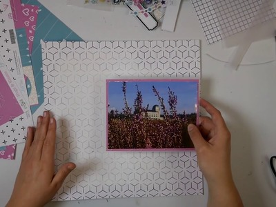 Scrapbook Layout Proces Video #13 GEBOUW A