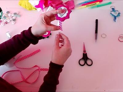 DIY: sleutelhangers maken | KNIPgirls Rachel