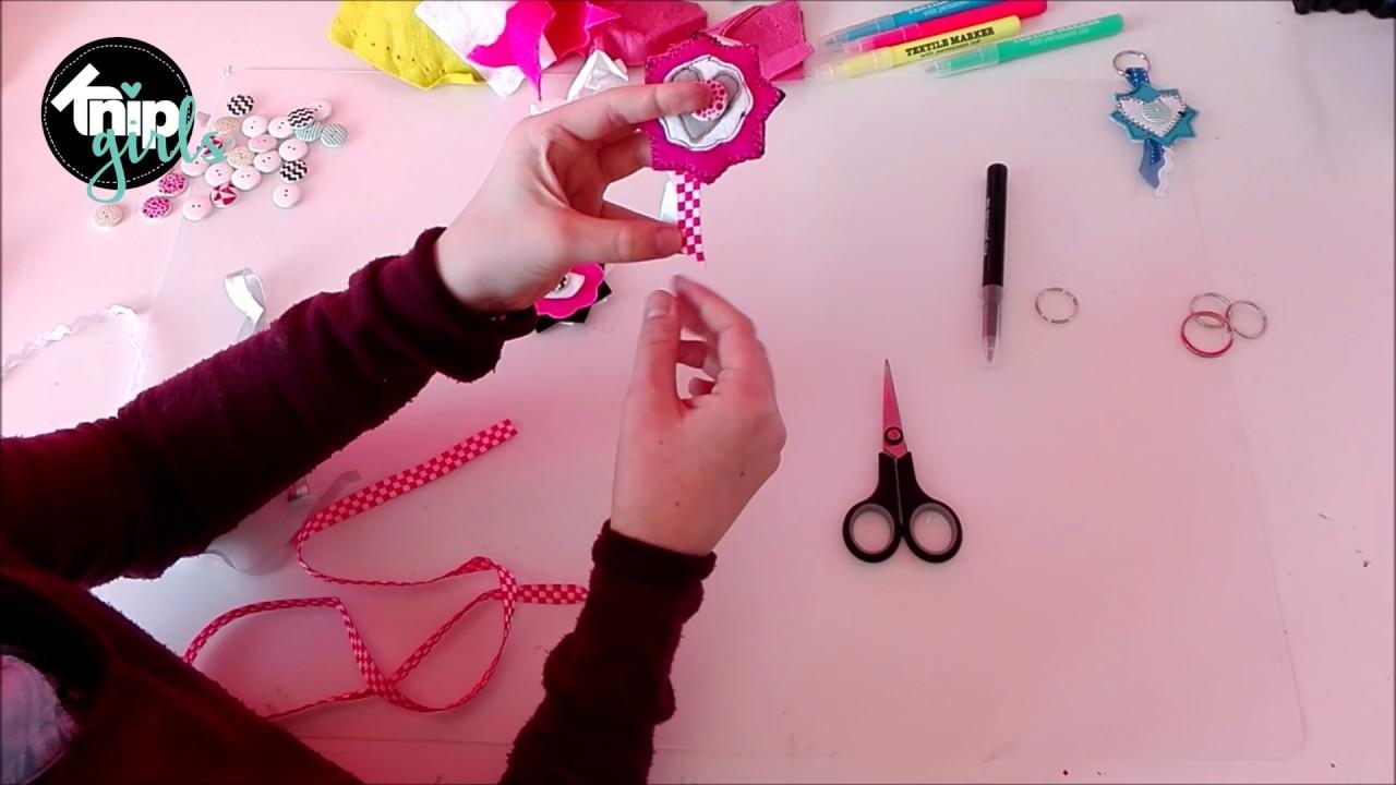 DIY: sleutelhangers maken   KNIPgirls Rachel