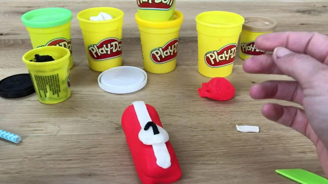 Play Doh - Formule 1 raceauto DIY