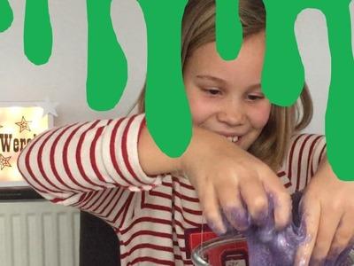 Slijm maken met lijm en wasmiddel - Simpel slijm maken