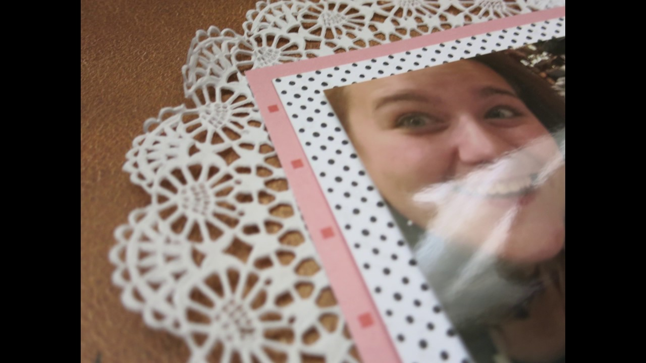 Scrapbook Layout Process Video Kreadoe