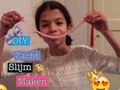 ♡DIY Zacht Slijm Maken | BrunetteDIY