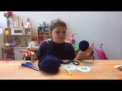 Caroline: hoe een pompon maken DIY