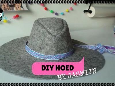 DIY Hoed | KNIPgirls Jasmijn
