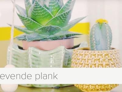 Een zwevende plank voor je planten   diy   vtwonen