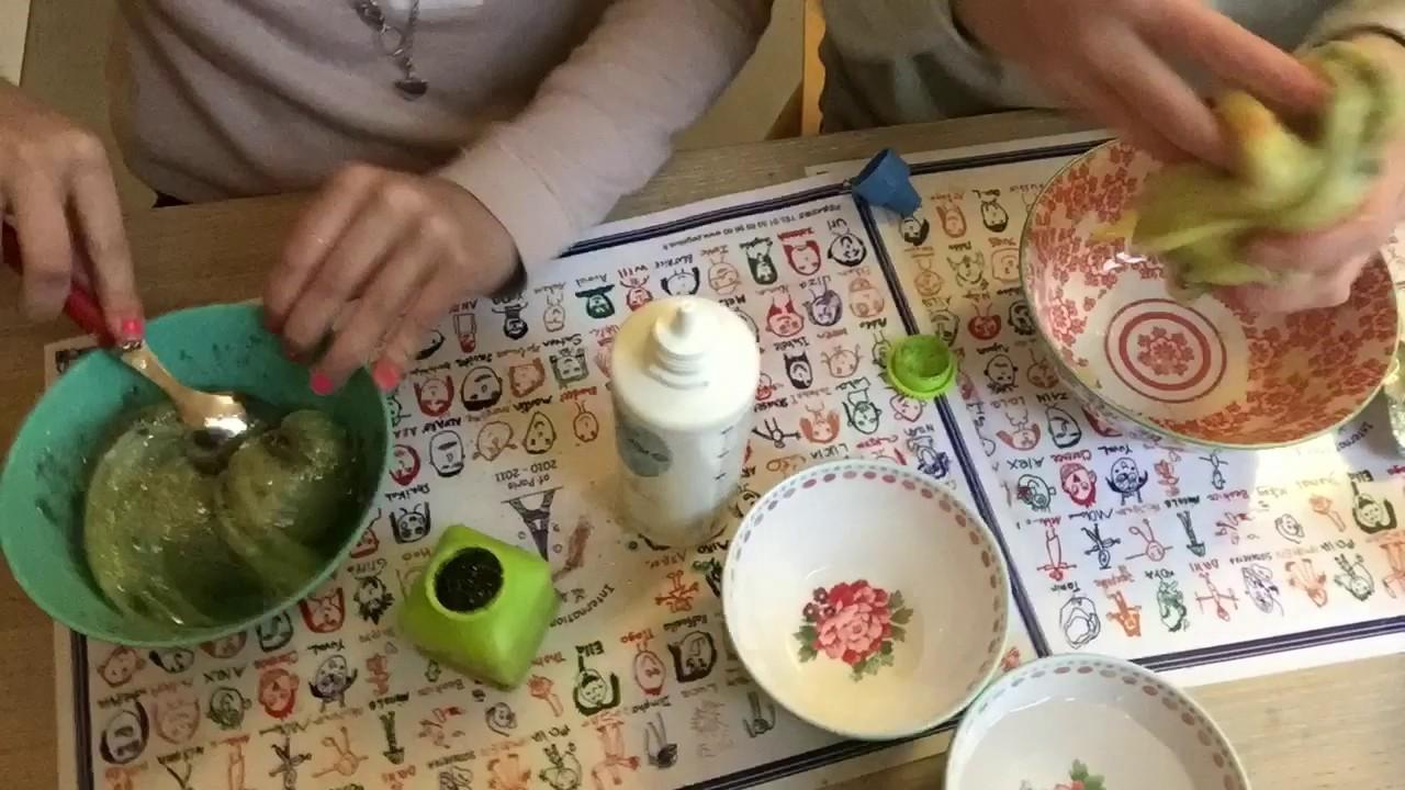 DIY Crunchy Slime || Lucia En Mette