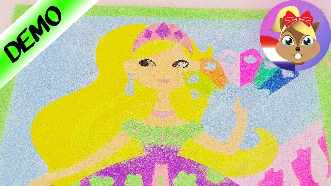 Pink Glitter Dreams | Sierradendoosjes zelf maken met glitter en prinsessen | DIY Set