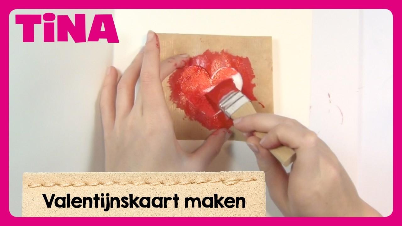 DIY: Valentijnskaart maken met Imke | Tina