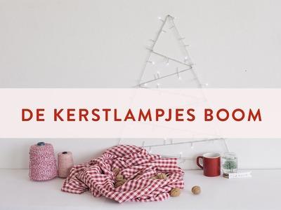 DIY Kerstlampjes boom | Westwing stijltips