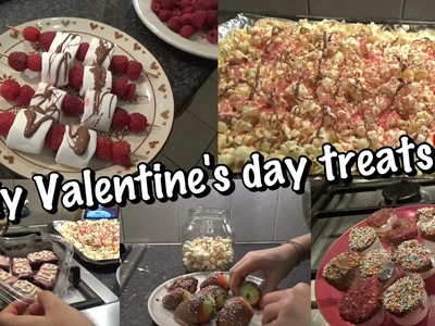 DIY EASY LAST-MINUTE VALENTINE'S DAY TREATS