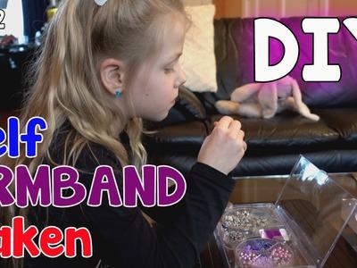 DIY | Zelf ARMBAND maken. Echt iets voor meiden die MEISJE MEISJE zijn. #832